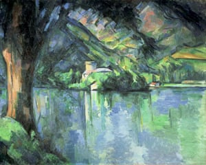 Paul Cézanne, Le Lac d'Annecy (1896)