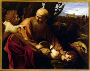 Caravaggio, The Sacrifice of Isaac (c1603)