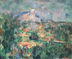 Paul Cézanne, Mont Sainte-Victoire from Les Lauves (1904-1906)