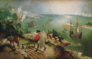 Pieter Bruegel the Elder, Landscape with the Fall of Icarus (1555)