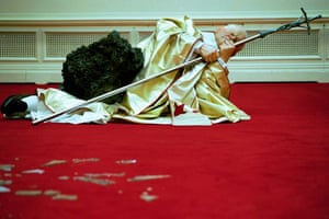 Maurizio Cattelan, The Ninth Hour (1999)