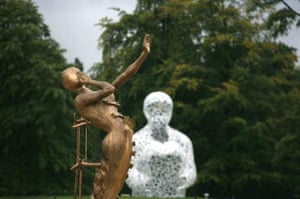 Sculptures at Chatsworth House