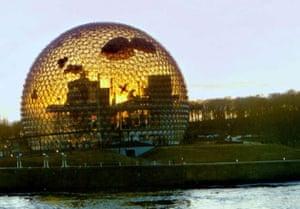 Buckminster Fuller's 1962 geodesic Dome