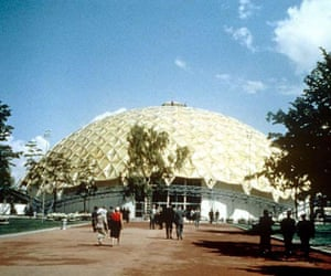 The Kaiser Geodesic Dome, at the American National Exhibition, Moscow 1959
