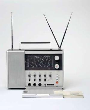 T 1000 Radio World Reciever, 1963 Dieter Rams