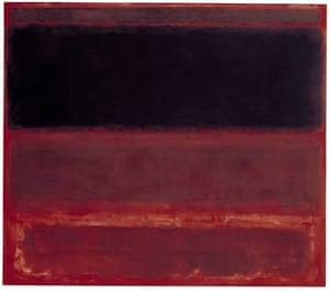 Mark Rothko Four Darks in Red 1958