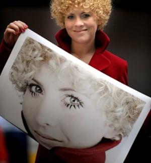 Anne Oelmann with her Rankin portrait crop
