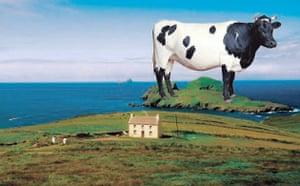 Ebbsfleet Landmark: Milk of Bovine Kindness