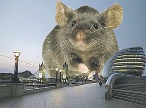 Ebbsfleet Landmark: The Mayoral Mouse