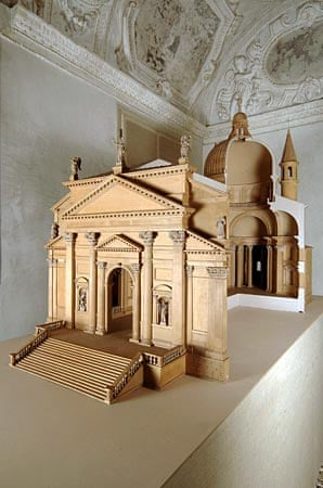 Model of the Church of the Redentore