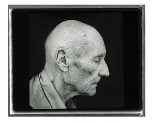 Annie Leibovitz's portrait of William Burroughs