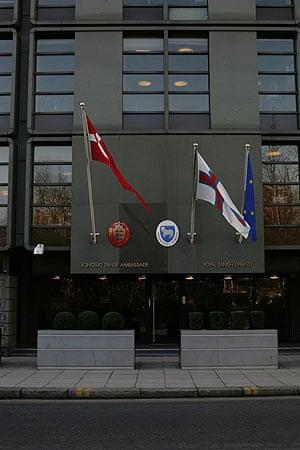 The Royal Danish Embassy in London