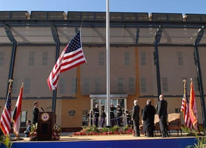 The US embassy in Baghdad