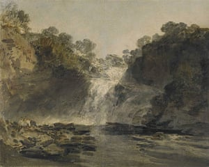 JMW Turner's The Falls of Clyde