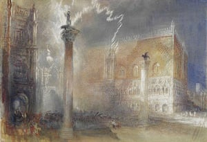 JMW Turner's The Piazzetta, Venice