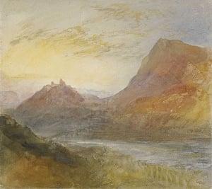 JMW Turner's Sion, Rhone