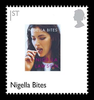 British design stamps alternative: Nigella Bites