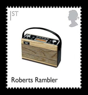 British design stamps alternative: Roberts Rambler