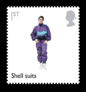 British design stamps alternative: Shellsuits