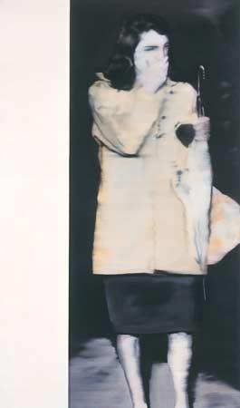 Woman with Umbrella, 1964