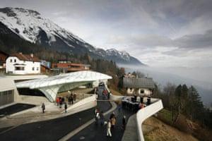 Zaha Hadid's Innsbruck railway station.