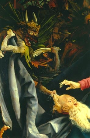 The Temptation of St. Anthony from the Isenheim Altarpiece