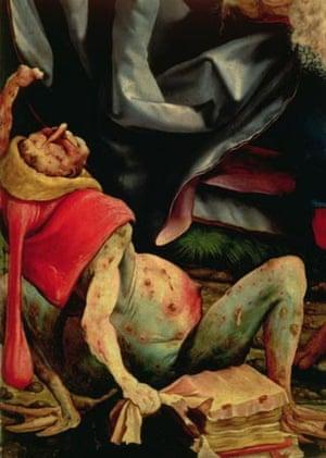 The Temptation of St. Anthony by Matthias Grunewald