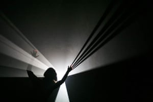 Anthony McCall at the Serpentine