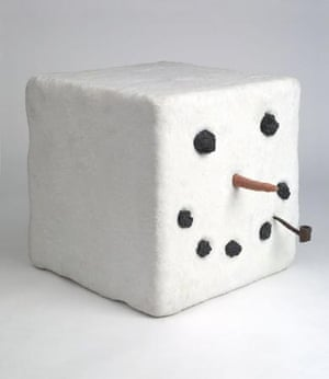 Keith Tyson's snowman