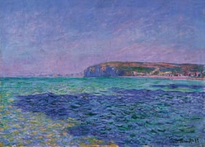 Shadows on the Sea. The Cliffs at Pourville, 1882