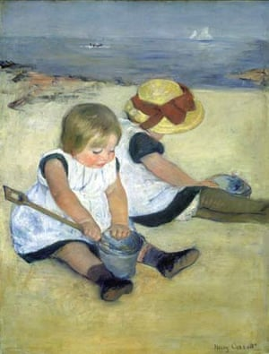 Children at the Seashore