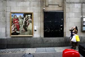 National Gallery street art