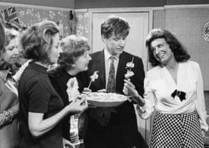 The cast of Coronation Street including Pat Phoenix