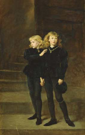 The Princes in the Tower (1878) Oil on canvas