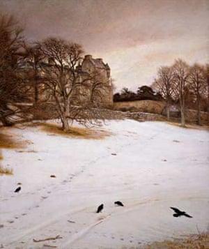 Christmas Eve (1887) Oil on canvas