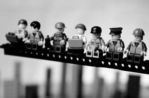Iconic photographs in Lego