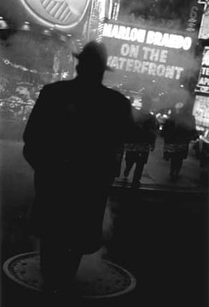 The Great White Way, Times Square, New York, 1954 © Louis Stettner