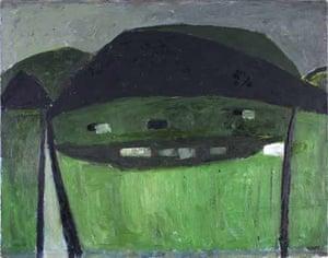 Slagheap Landscape, 1953, by William Scott
