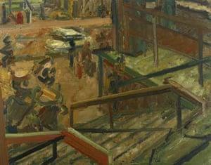 Euston Steps - Study (1980-81)