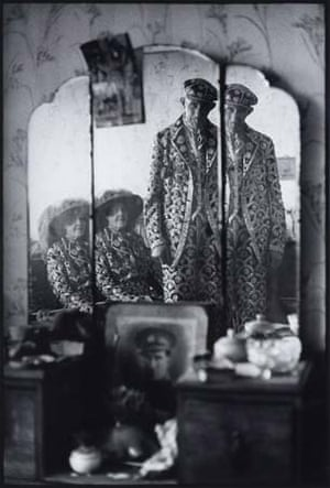 Untitled ... Pearly King and Queen, East Ham 1969-71