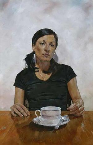 BP Portrait Award: Amanda Smith at Vincent Avenue by Simon Davis