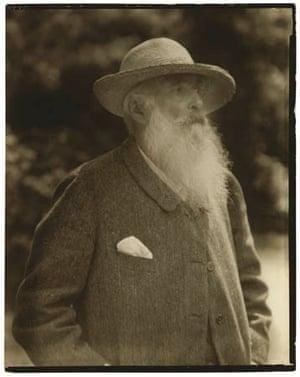 Claude Monet by Nickolas Muray, 1926