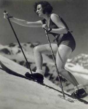 Leni Riefenstahl by Martin Munkacsi, 1934