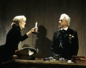 Vanessa Redgrave and Paul Scofieldin 'John Gabriel Borkman' at the Lyttelton Theatre