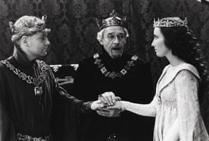 1989: Paul Scofield, Kenneth Branagh and Emma Thompson in Henry V