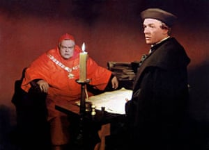 Orson Welles and Paul Scofield in 'A Man for All Seasons'