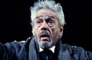 Paul Scofield appears in Ibsen's 'John Gabriel Borkman' at the National Theatre