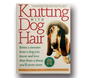 Knitting with Dog Hair