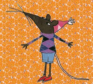 Lauren Child illustration of That Pesky Rat