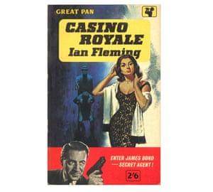 Pan Macmillan early edition Casino Royale cover